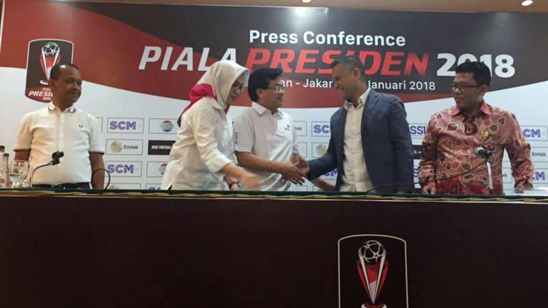 Kerjasama antara panitia Piala Presiden dan PWC