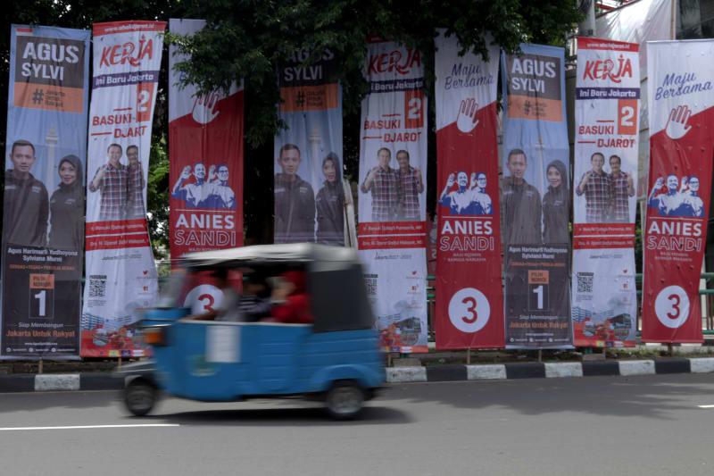 Alat Peraga Kampanye DKI Jakarta