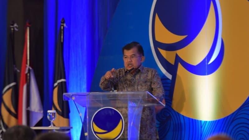 Jusuf Kalla : Caleg Itu Untuk Unjuk Gigi, Bukan Saling Serang