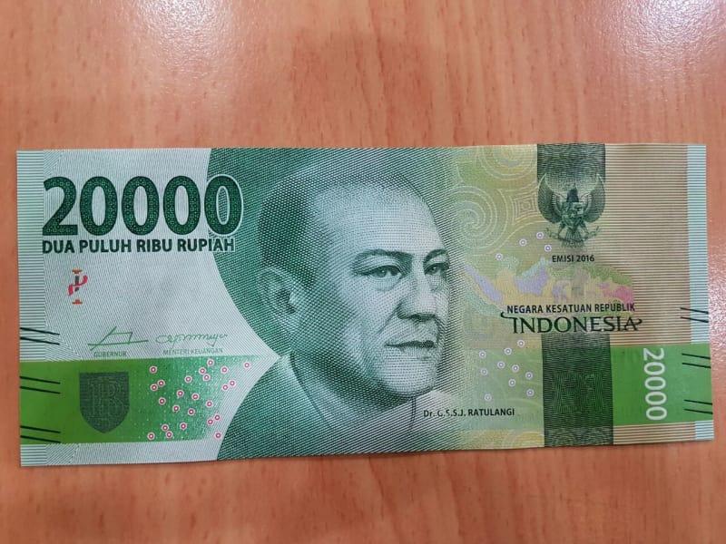 Desain Baru Uang Rp 20 ribu