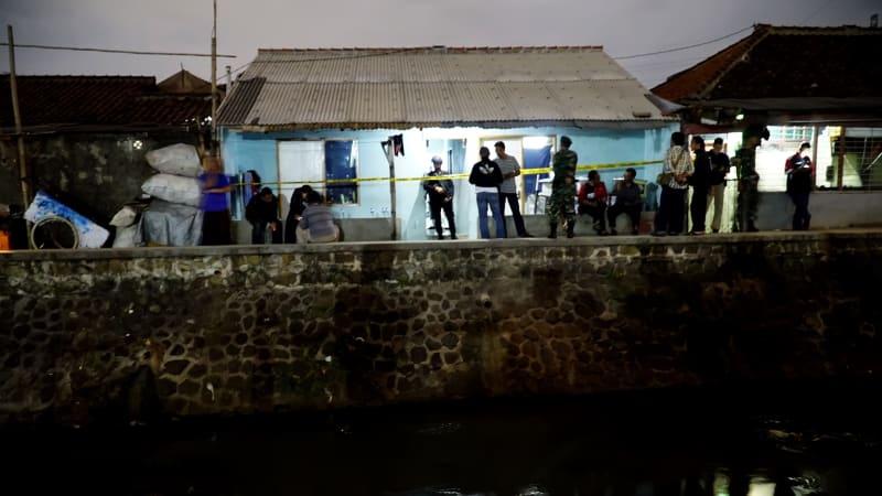 Kontrakan pelaku bom panci Bandung