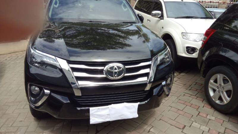 Mobil Fortuner Sitaan KPK
