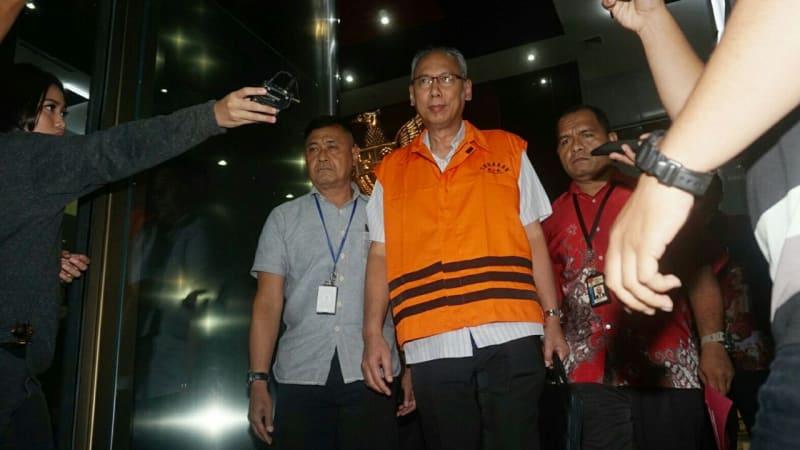 KPK Resmi Menahan Dr. Bimanesh Sutardjo