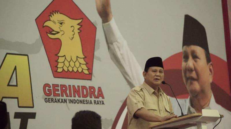 Prabowo Menyapa warga Jawa Barat