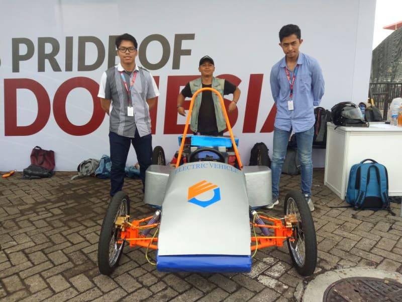 Mobil Listirk Karya Mahasiswa Polaban