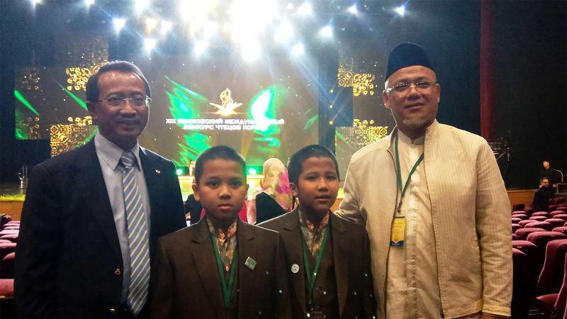 Hafiz Cilik Indonesia Gemakan Ayat Suci Al-Quran di MTQ Internasional Moskow