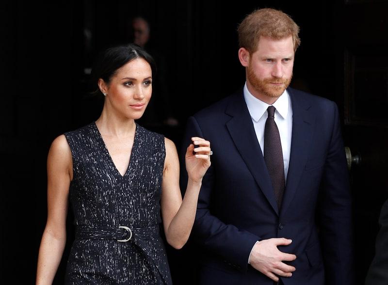 Meghan Markle & Pangeran Harry