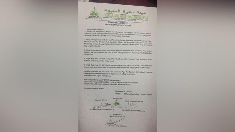Maklumat LDF DPP FPI