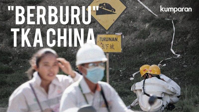 """""""Berburu"""" TKA China di Morowali"""