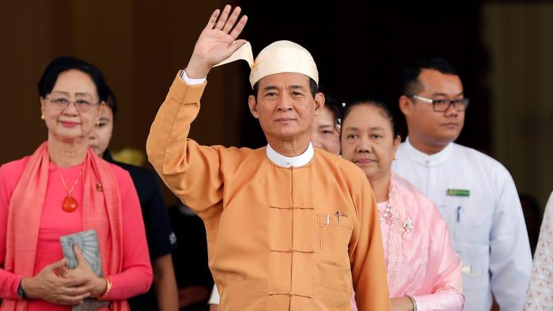 Presiden Myanmar, Win Myint