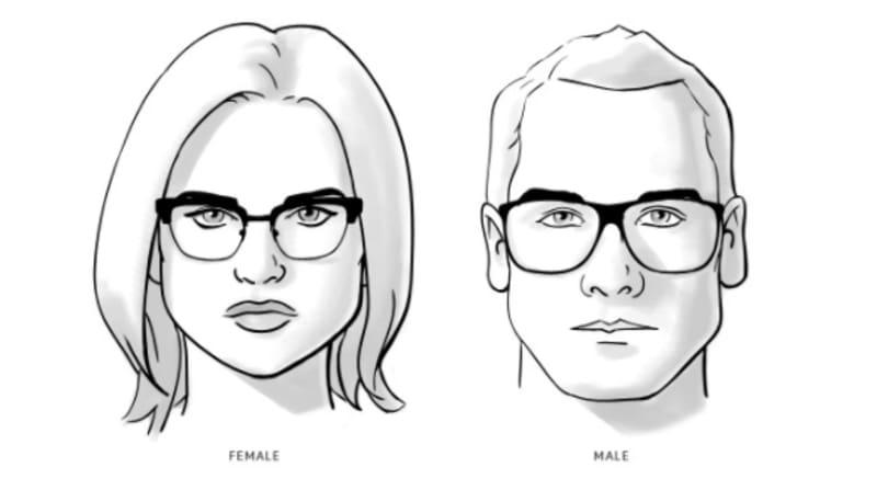 Pilihan Kacamata Berkualitas dan Pelayanan Terbaik di Optik Tunggal - Kesehatan Mata vs Fashion - Wajah Segitiga