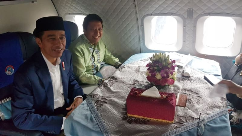 Muhammad Romahurmuziy News: Cerita Romahurmuziy Saat Naik Pesawat TNI AU Bareng Jokowi