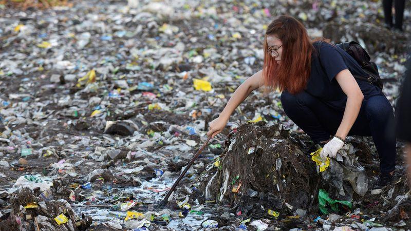 Teluk Manila, Hari Kebersihan Pesisir Pantai Dunia, World Coastal Clean Up Day, Filipina