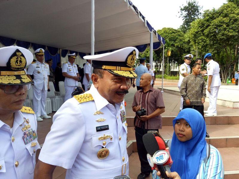 Kepala Badan Keamananan laut (Bakamla) RI, Arie Soedewo