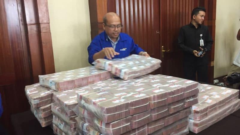 Pengembalian uang dari kasus korupsi BLBI