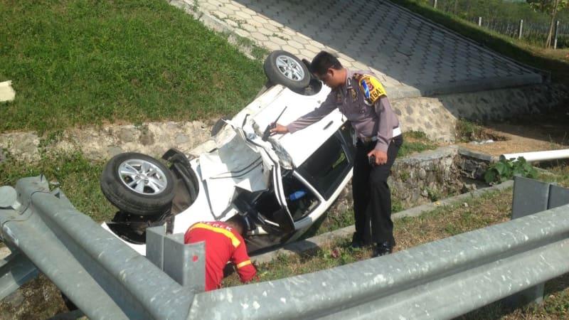 Kecelakan di Tol Cipali KM 153.