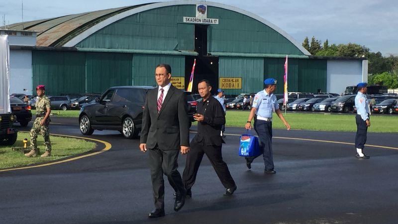 Anies Baswedan hadiri HUT TNI AU