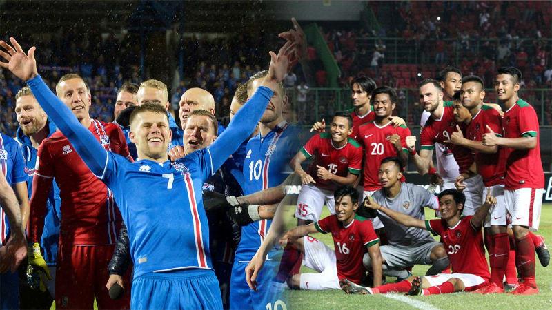 Timnas Indonesia dan Islandia