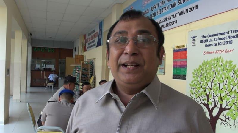 Bapaslon Kepala Daerah Aceh Jalani Tes Kesehatan