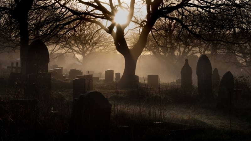Ilustrasi Kuburan