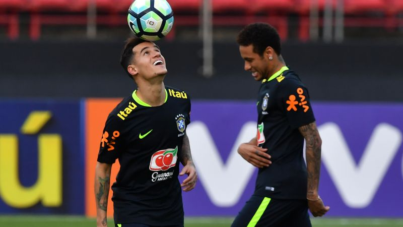 Coutinho, Neymar