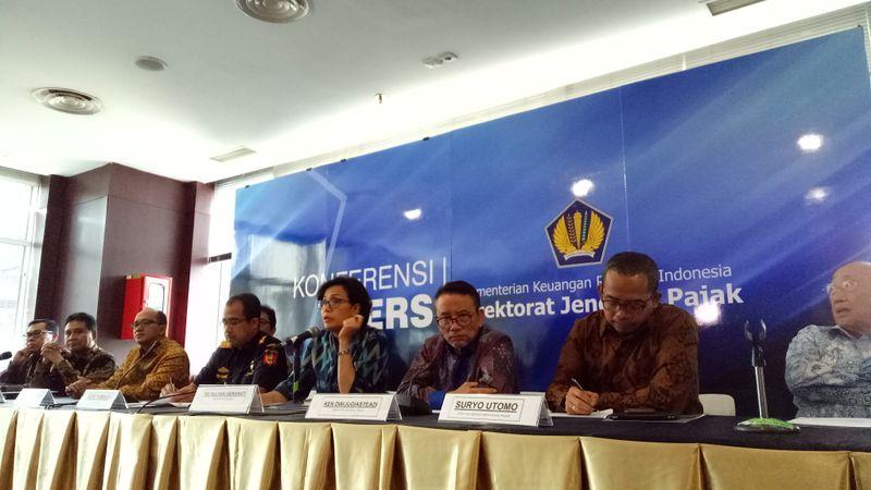 Sri Mulyani Meluncurkan Tim Reformasi Pajak dan Cukai