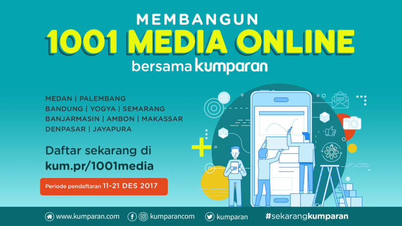 kumparan 1001 media online