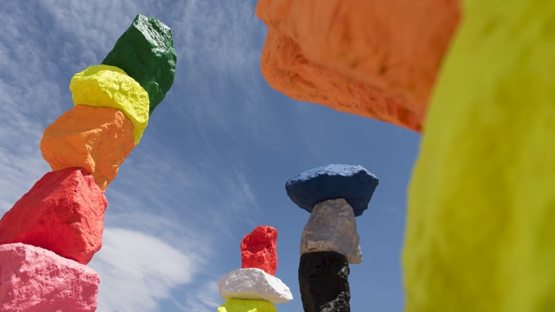Seven Magic Mountains, AS