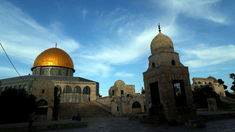 Jerusalem Bersolek Sambut Ramadhan