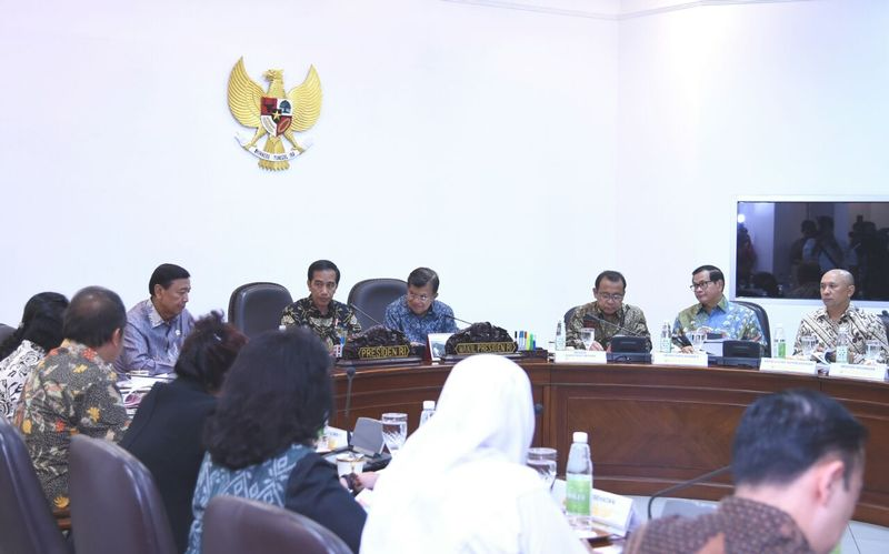 Presiden Jokowi Ratas