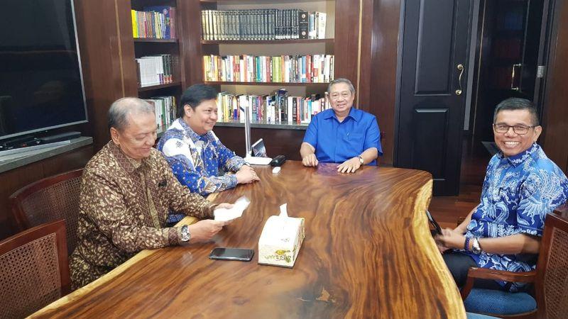 Airlangga Hartarto dan SBY