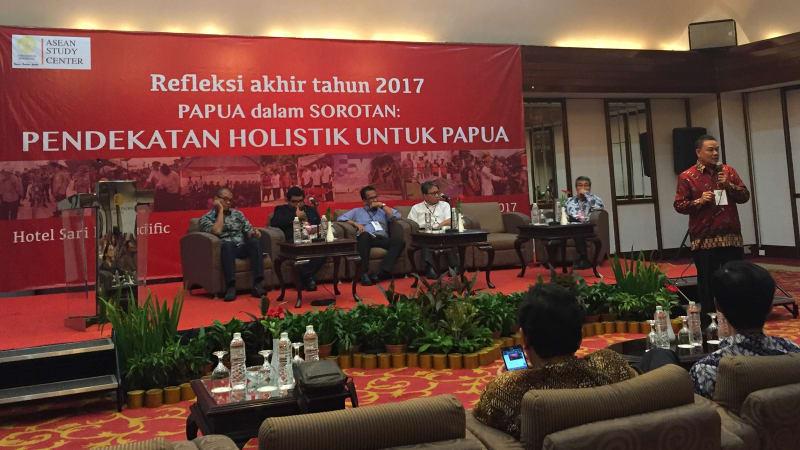 Diskusi Papua dalam Sorotan Asean Study Centre