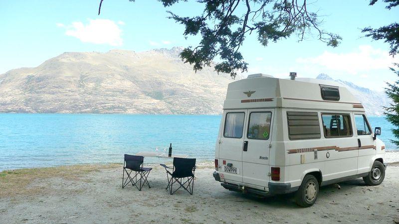 Campervan di Selandia Baru