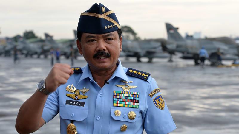 Hasil gambar untuk hadi Tjahjanto calon panglima TNI yang baru