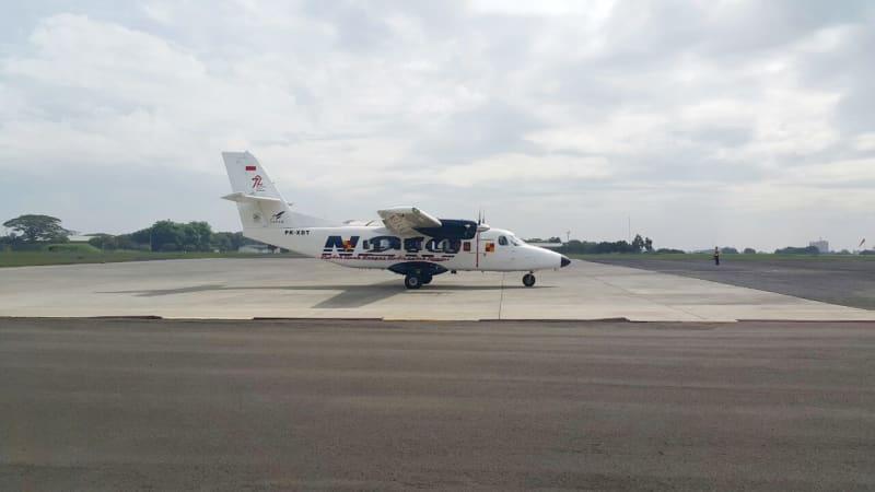 N219 mendarat mulus di Halim