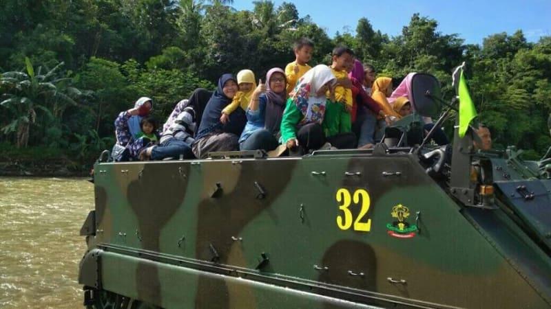 Kecelakaan Tank TNI