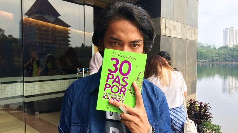 J.S Khairen penulis Buku 30 Paspor