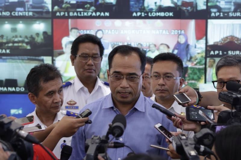 Menteri Perhubungan Budi Karya