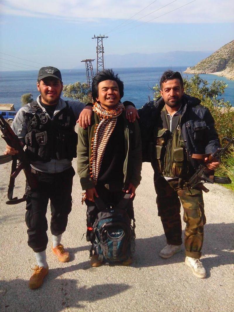Relawan Suriah