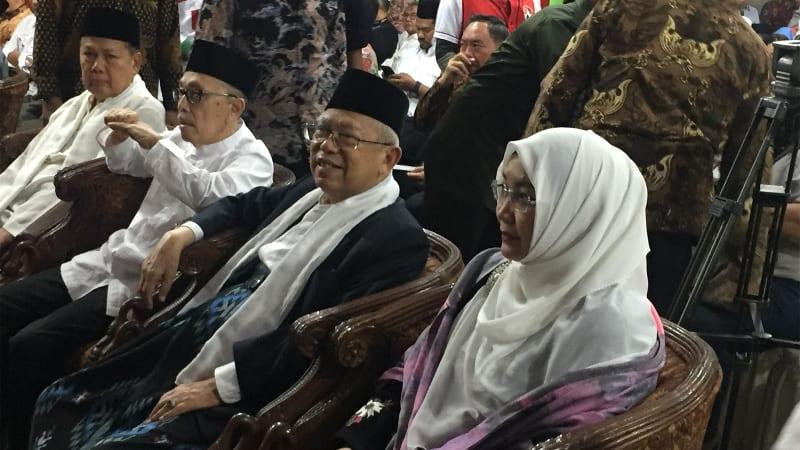 Ma'ruf Amin, Deklarasi Rumah KMA
