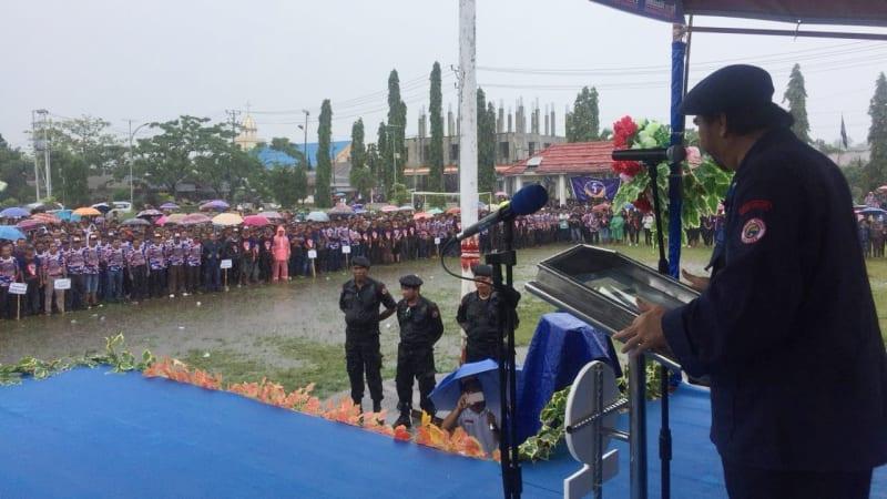 Surya paloh di Kabupaten Talaud