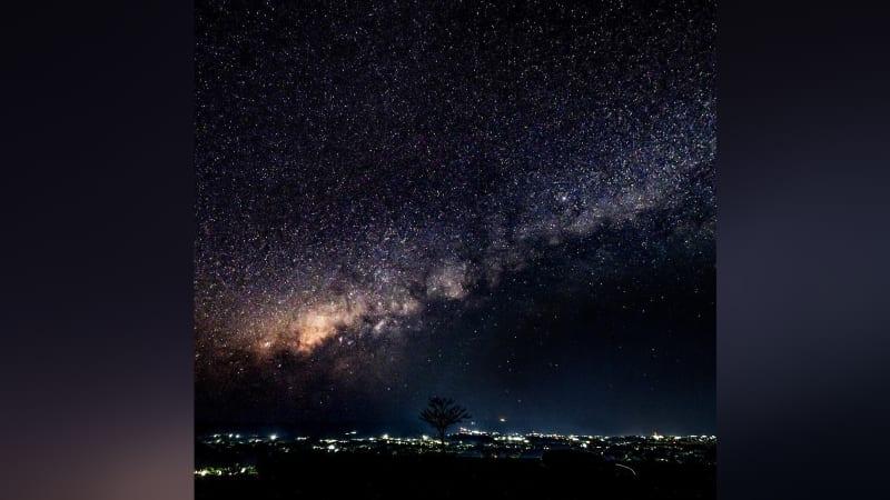 Milky way di langit Sumba