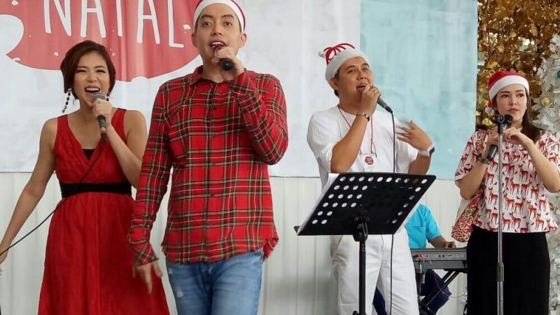 Perayaan Natal Selebriti