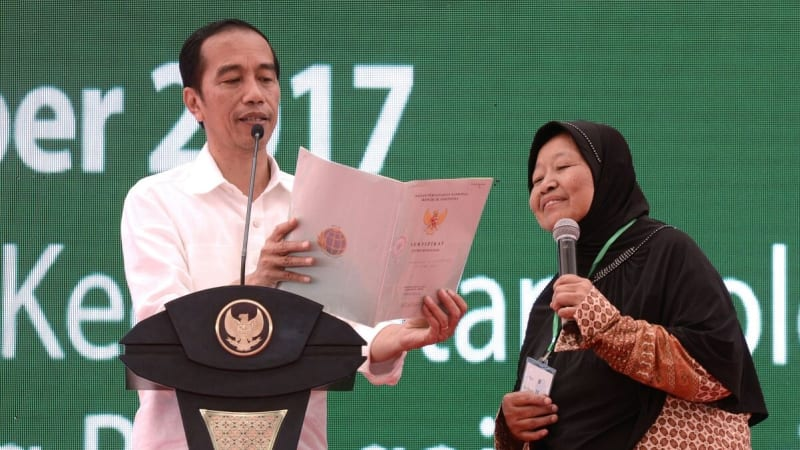 Jokowi di Serdang Bedagai