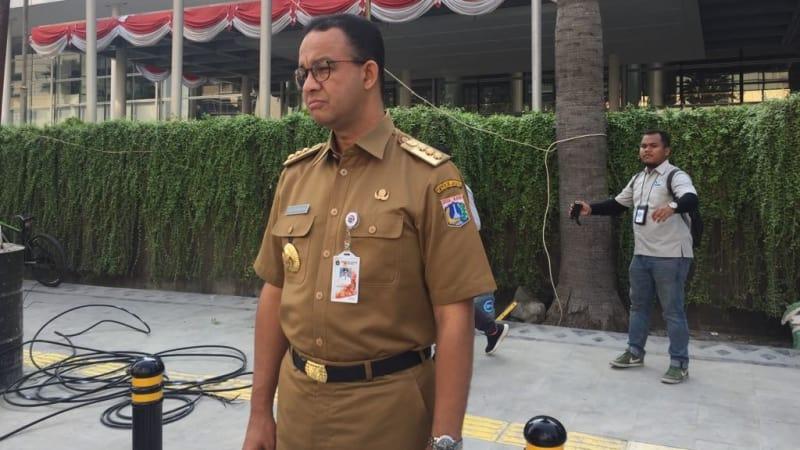 Gubernur, DKI Jakarta, Anies Baswedan, Pelican Crossing Bundaran HI