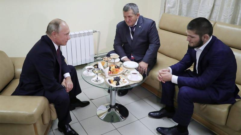Vladimir Putin , Khabib Nurmagomedov