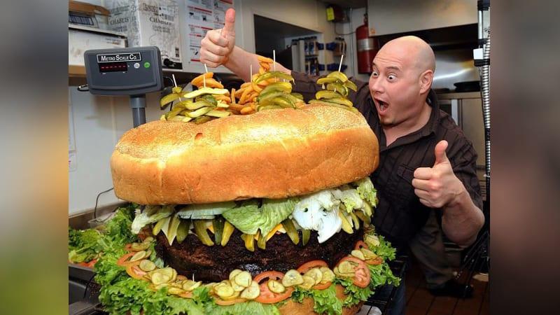 Burger Terbesar di Dunia (Cover)