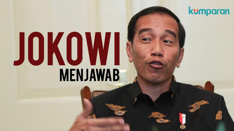 Ditanya Pilih Prabowo atau Gatot, Jokowi Lebih Milih Moeldoko