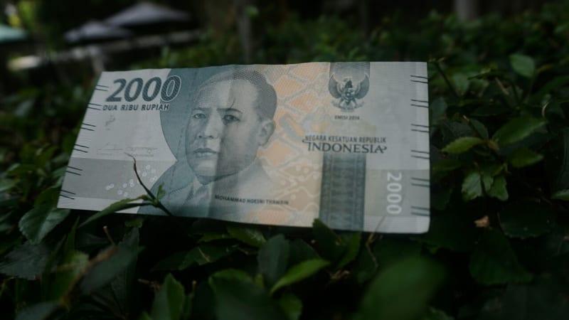Ilustrasi uang pecahan Rp 2.000