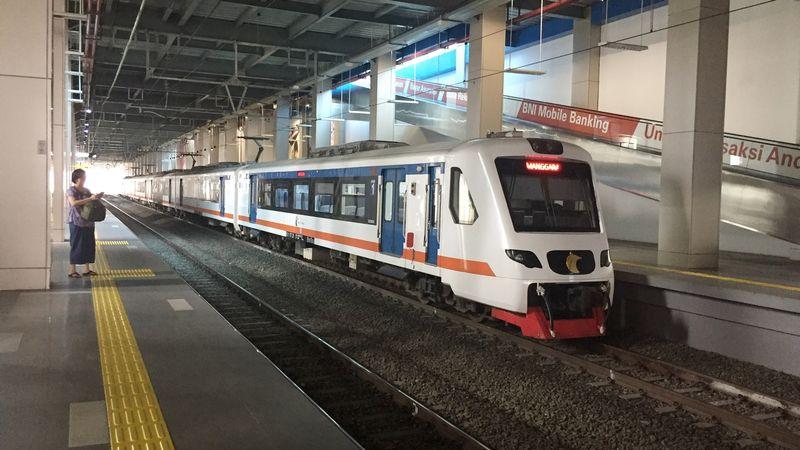 Kereta Bandara, Stasiun BNI City